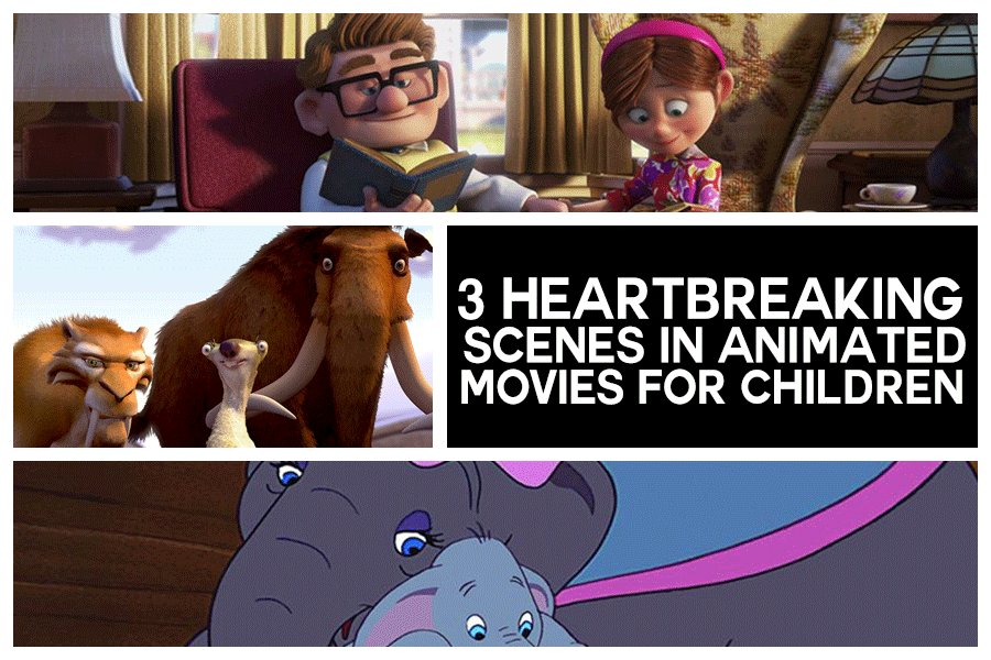 3 Heartbreaking Scenes in Animated Movies for Children